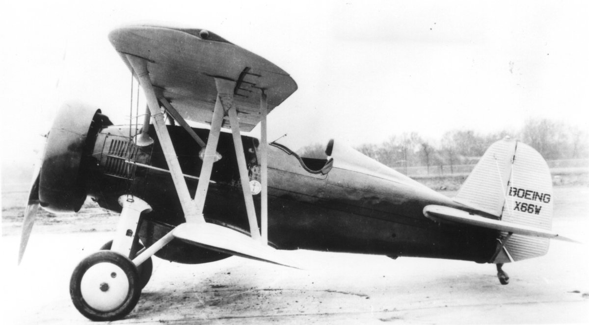 Boeing P12/F4b Aerodrome